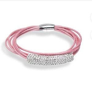 Jewelry - NWOT Shamballa Bracelet with Swarovski Crystals
